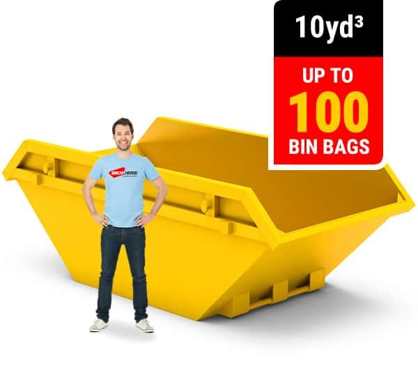 10 cubic yard skip
