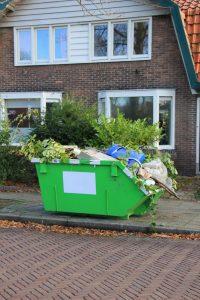 Loaded Garbage Skip